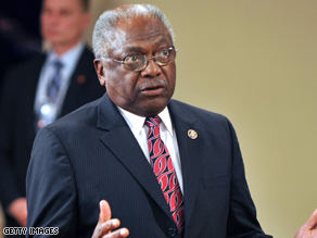 Clyburn said the governor should have told more people where he was going.
