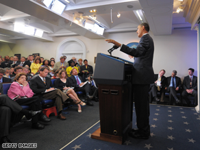 President Obama said Tuesday that he anticipates the nationwide unemployment rate to surpass 10 percent this year.