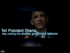 The RNC unveiled its first ad of the cycle Wednesday that takes aim at Obama.