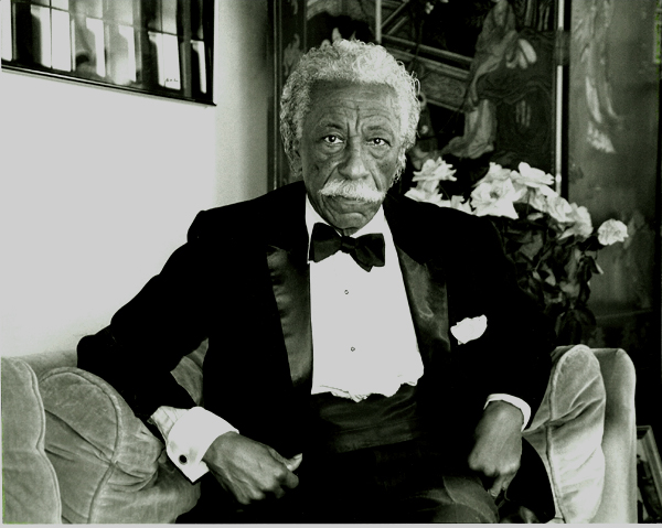 Photographer, composer and writer Gordon Parks 1912-2006. Photo: Johanna Fiore