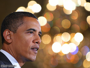President Obama touched on the changed situation in Iraq during a White House event Tuesday.