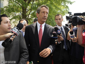 An influential South Carolina newspaper published an editorial Tuesday that said Gov. Mark Sanford should not step down.