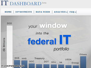 The Obama administration has premiered a new online tool that allows users to track the federal government's IT investments.