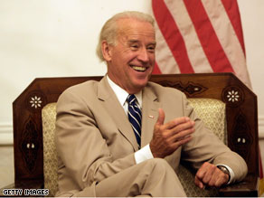 Joe Biden says that he&#039;s not going to second guess Sarah Palin&#039;s decision to resign as governor of Alaska.
