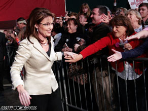 Sarah Palin blasted the 'main stream media' in a July 4 message posted on Facebook.