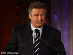In a statement provided to CNN, Baldwin took a jab at Lieberman, calling the Democrat-turned-Independent a 'moderate Republican.'