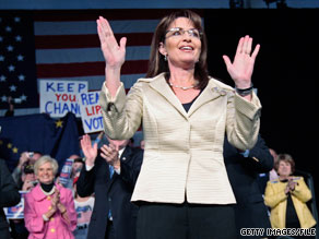 The co-founder of a pro-Palin online movement says there was an enormous surge in interest over the weekend after the Alaska governor's surprise announcement on Friday.