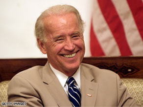 You gave Joe Biden a C- on the CNN National Report Card.