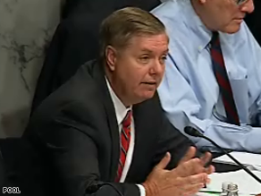 Sen. Lindsey Graham was censured Monday by a county party in South Carolina.