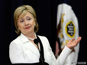 Secretary of State Clinton spoke out Monday about the Obama administration's rigorous vetting process.