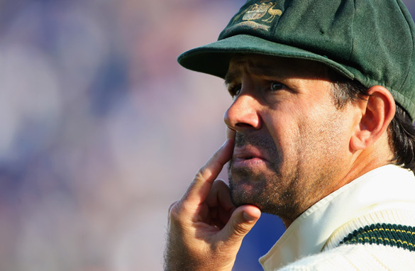 Ponting ponders how victory escaped his side in the first Ashes Test against England in Cardiff.