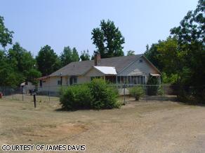 The main farmhouse in Bernice, Louisiana.