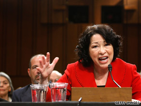 In an e-mail sent to supporters Tuesday, President Obama said the public would see 'a sharp and fearless jurist' when Judge Sotomayor takes questions from senators.