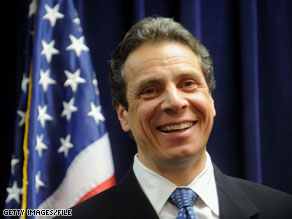Andrew Cuomo raised more than $5 million in the first six months of the year.
