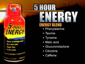 The makers of 5-hour Energy call it a 'no-nonsense drink.'