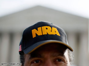  The National Rifle Association announced Thursday that it opposes Sonia Sotomayor&#039;s nomination to the Supreme Court.
