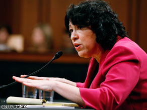 Sonia Sotomayor said Thursday that the Supreme Court appears to &#039;have the capacity to take on more cases.&#039;
