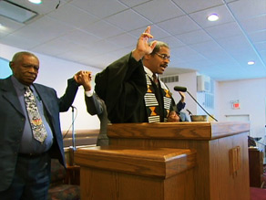 Reverend Leland Jones, Greater New Light Missionary Baptist Church, Atlanta, GA.
