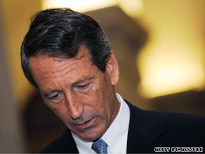 Two Republican lawmakers told Sanford to resign Tuesday.