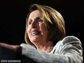 Democrat House Speaker Nancy Pelosi