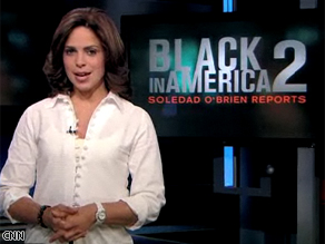 Soledad O'Brien has been the host of the first two installments of 'Black in America'