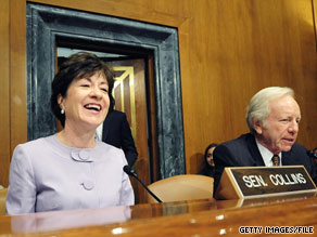 Sen. Collins said Tuesday that she intends to vote for Judge Sotomayor.
