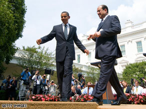 President Obama and Iraqi Prime Minister Nuri al-Maliki held a joint press conference Wednesday at the White House.