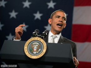 President Obama again Thursday accused top Republicans of playing politics with health care reform.
