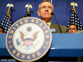 Senate Majority Leader Harry Reid is up for re-election in 2010.