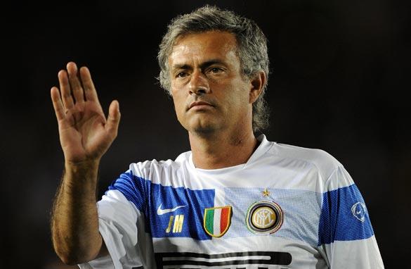 Mourinho the mute.