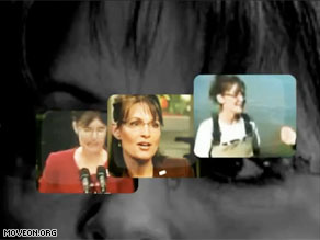 MoveOn is targeting Palin in a new ad.
