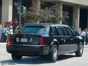 President Obama's limo is casually known as 'the Beast.'