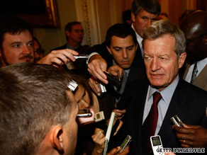  Democratic Sen. Max Baucus, the chairman of the Senate Finance Committee, is spearheading bipartisan health care reform negotiations in the Senate.