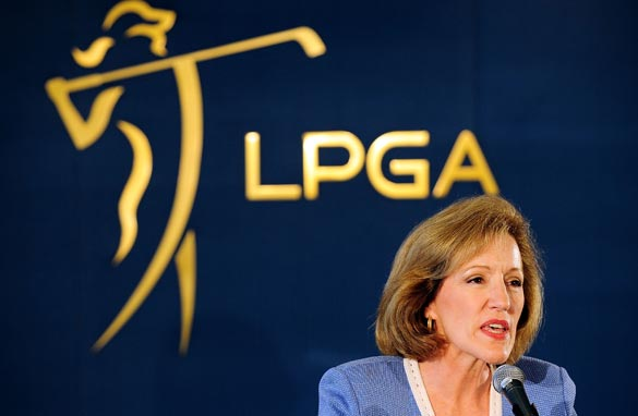 Stand-in LPGA commissioner Martha Evans has a tough job on her hands.