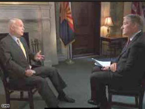 Watch John King&#039;s interview with Sen. John McCain Sunday on State of the Union.