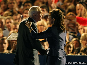 McCain says he still speaks with Palin 'fairly often.'