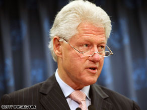 Former President Bill Clinton blasted Republicans Monday in a fundraising e-mail.