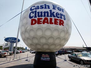 With the help of the U.S. government's 'Cash for Clunkers' program, Ford Motor Co. reported an increase of approximately 1.6 percent in U.S. sales for July in comparison to the same month last year.