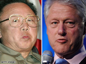 Former U.S. President Bill Clinton met with top North Korean officials in Pyongyang to appeal for the release of Laura Ling and Euna Lee.