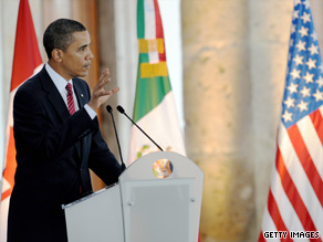 Speaking in Mexico Monday, President Obama said a Canadian model for health care won&#039;t work in the United States.