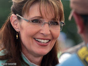 Palin on Sunday called on critics of the health care plan to turn down the volume.