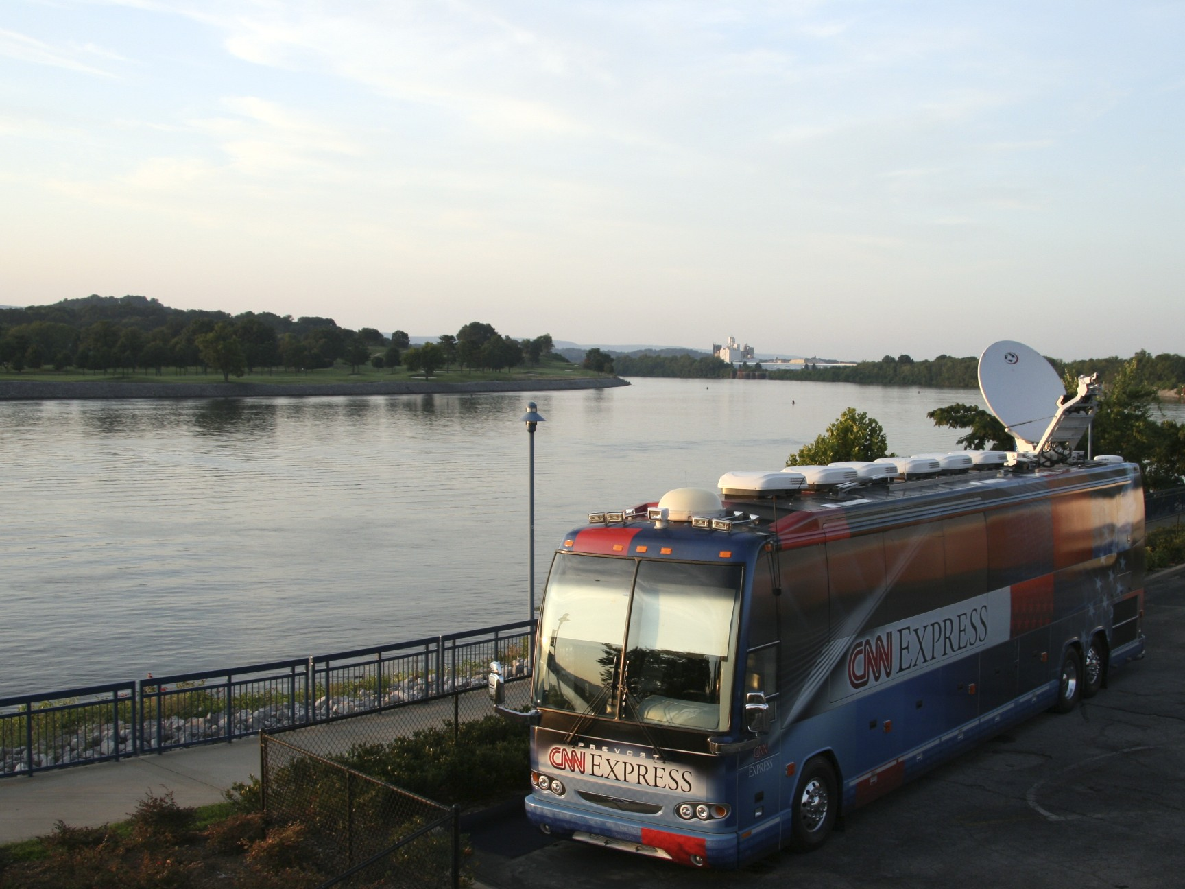 The CNN Express in Chattanooga, TN