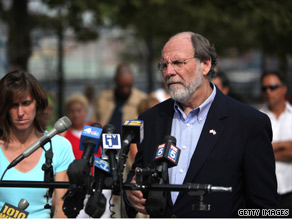 New Jersey Democrat Gov. Jon Corzine trails his Republican challenger by 9 points in a new poll out Tuesday.