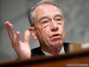 Sen. Grassley held a town hall in Iowa Wednesday.