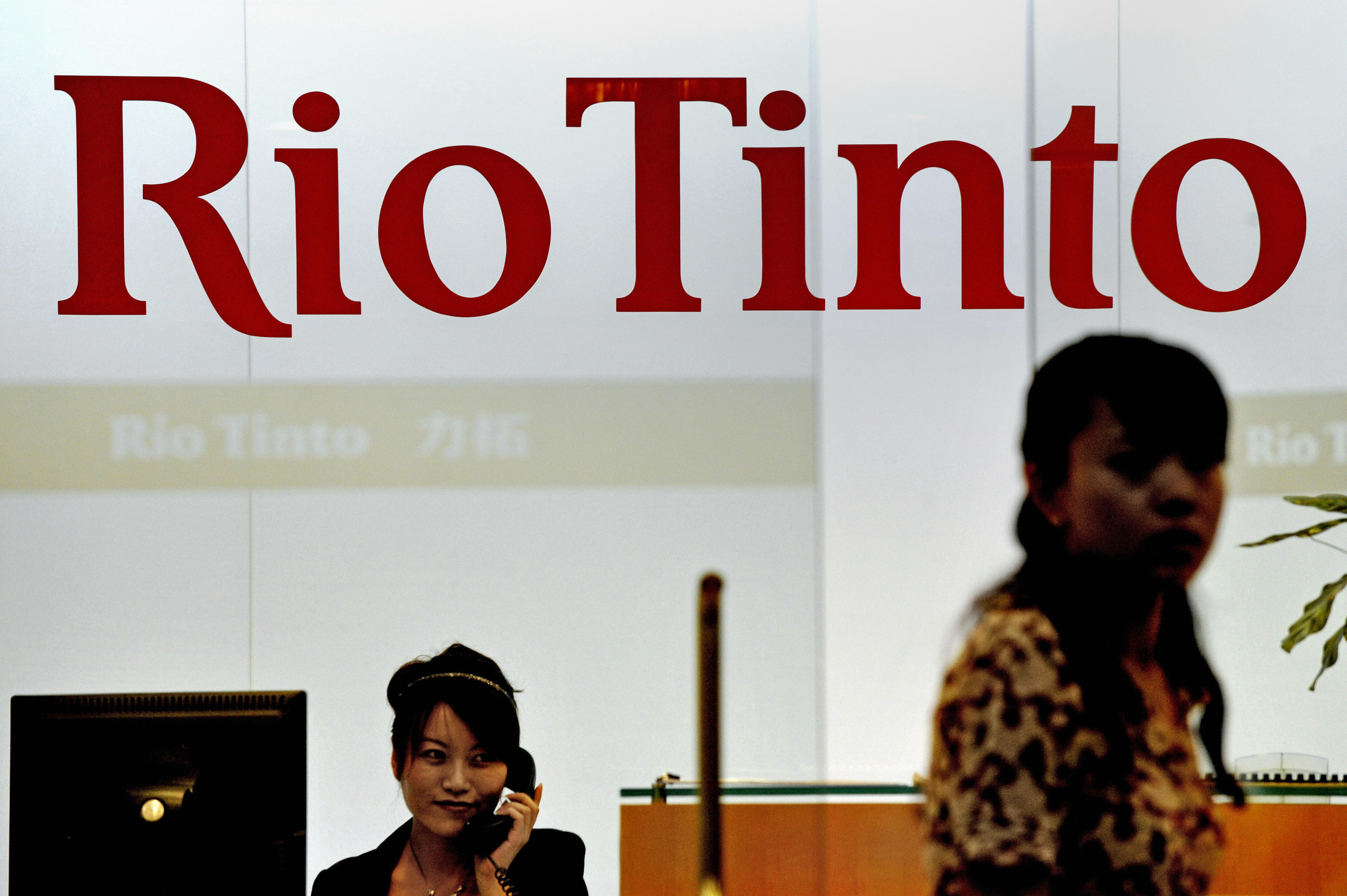 China says the Rio Tinto case will not affect the development of ties with Australia.