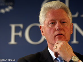 Bill Clinton on Thursday urged supporters of President Obama's health care plan to voice their support.