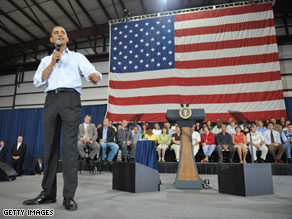  Obama sought out questions from a largely supportive Montana audience Friday.