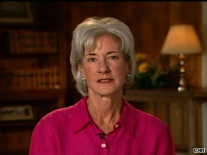 HHS Secretary Kathleen Sebelius said Sunday that high priority populations will likely have completed the full regimen of swine flu vaccination by Thanksgiving.