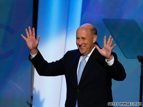 Wisconsin Democrat Jim Doyle, shown here addressing the Democratic National Convention last year, is not going to seek a third term as governor.