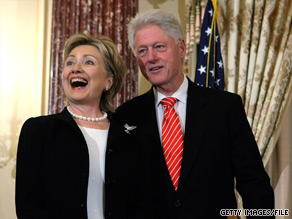 The Clintons are reportedly headed to Bermuda this weekend.